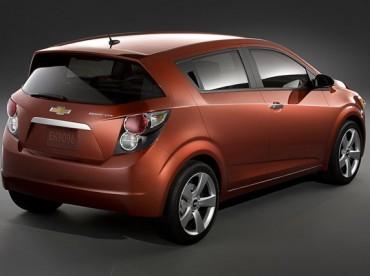 Chevrolet Sonic: le nouveau nom de la Chevrolet Aveo