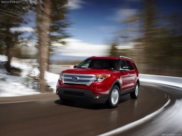 Nouvelles photos du Ford Explorer 2011