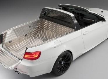 La palme du poisson d'avril va à BMW avec son BMW M3 Pickup