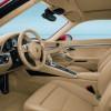 L'intérieur spacieux de la Porsche 911 2012