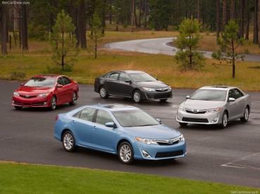 La Toyota Camry 2012 en Amérique du Nord: plus d'images de la voiture