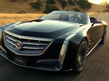 La voiture-concept Ciel de Cadillac