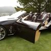 La Cadillac ciel, vue latérale