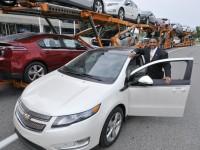 Chevrolet Volt de GM: la voiture électrique débarque au Canada