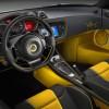 L'habitacle de la Lotus Evora S Freddie Mercury edition