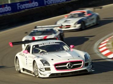 Mercedes-Benz: la SLS AMG GT3 remporte le Championnat d'Europe avec le team Heico Motorsport