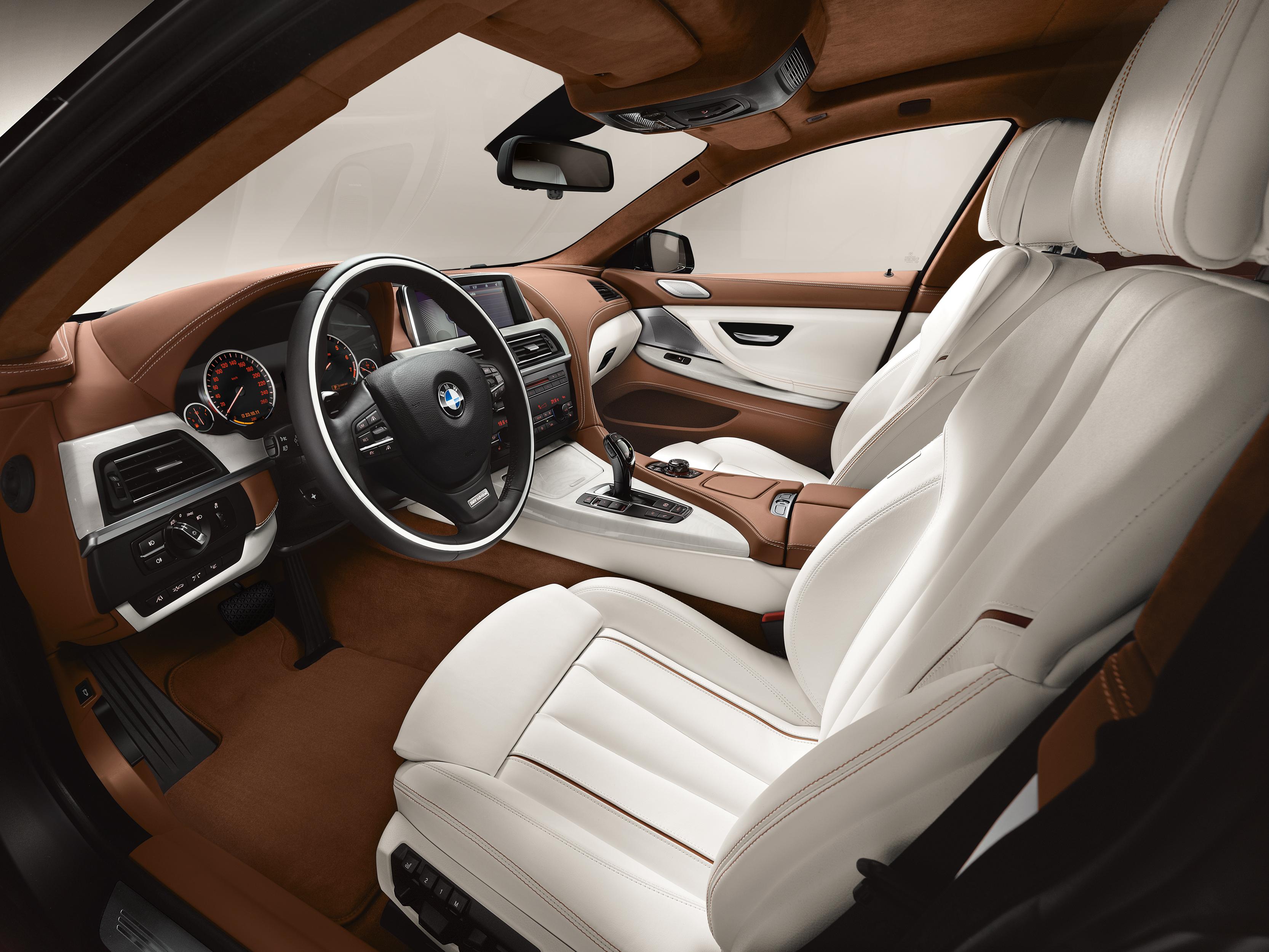 Gran Coupé Série 6 2013 intérieur de la voiture