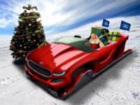 Concept Ford: le traineau du Père Noël