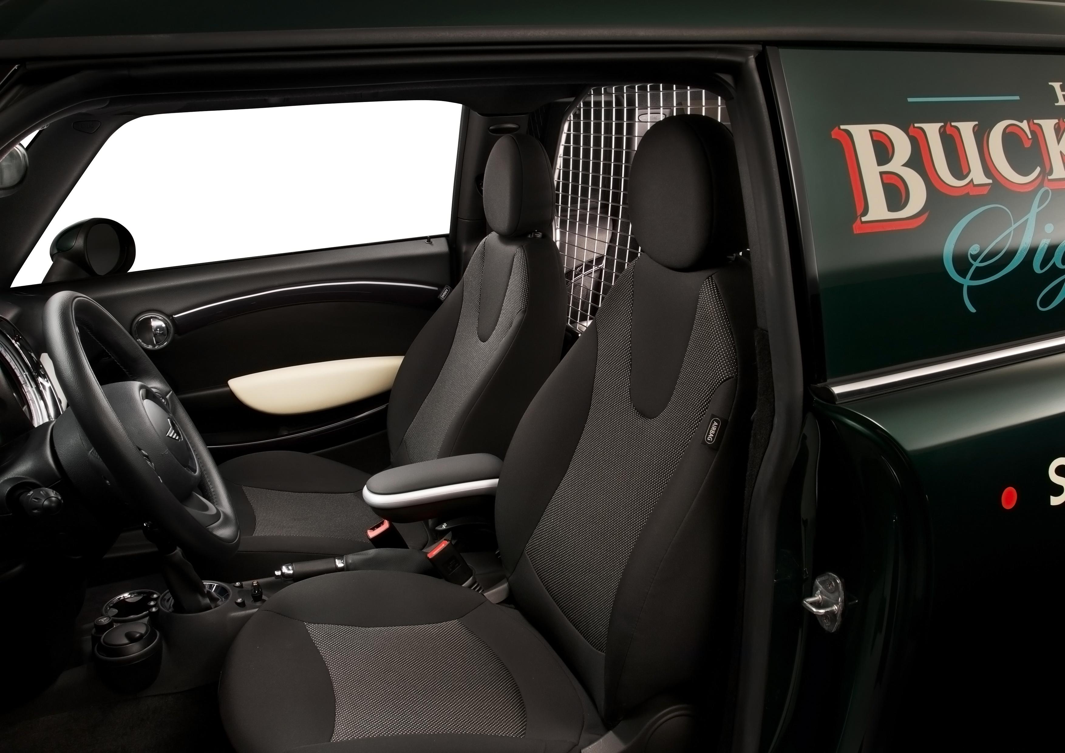 Mini clubvan Concept de BMW: intérieur spacieux