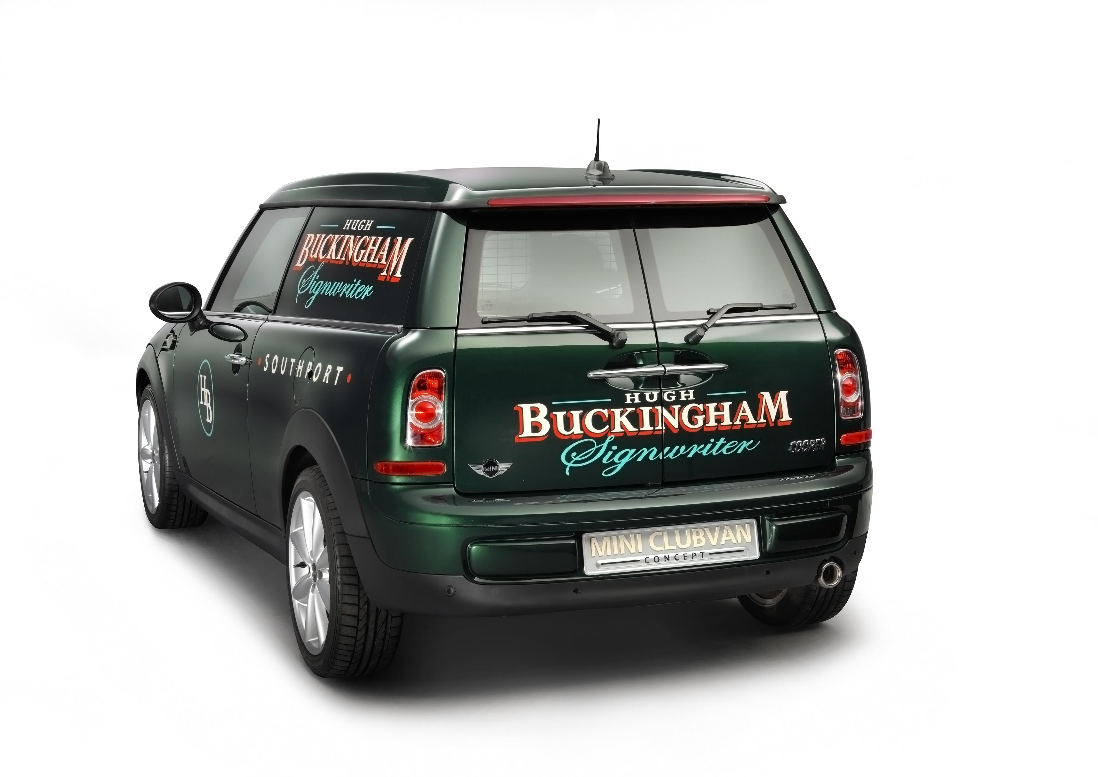 Le Concept Mini Clubvan, vue du coffre arrière