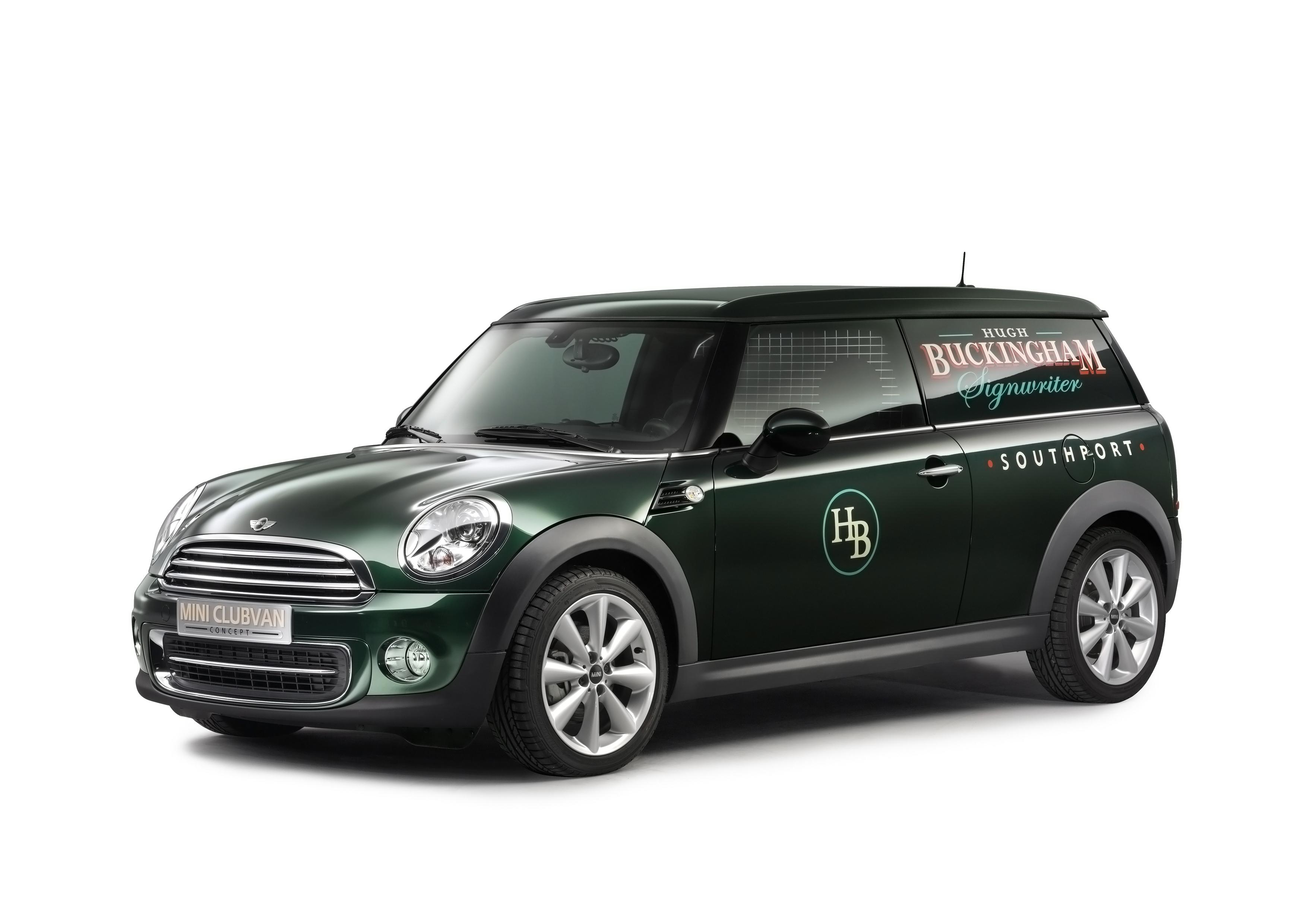 Mini Clubvan concept 2012, vue latérale
